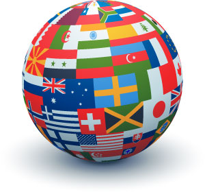do you have problems with international contacts
